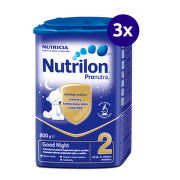 Nutrilon 2 Pronutra Good Night 800g - balenie 3 ks