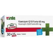 VIRDE KOENZYM Q10 Forte 60 mg tbl 30+15