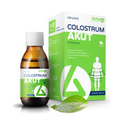 DELTA Colostrum sirup natural 100% 125 ml