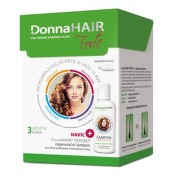 DONNA HAIR Forte 3 mesačná kúra 90 kapsúl + DonnaHAIR PERFECT šampón 100 ml