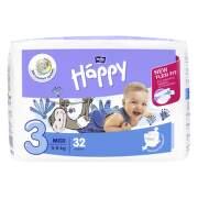 HAPPY Detské plienkové nohavičky 5-9 kg midi 32 kusov
