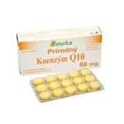 NATURICA Prírodný koenzým Q10 60 mg 30 tabliet