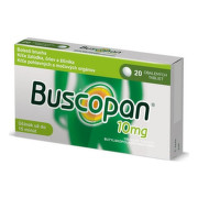 BUSCOPAN 10 mg 20 tabliet