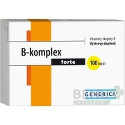 GENERICA B-komplex forte tbl 100