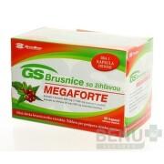 GS Brusnice MEGAFORTE (nové) cps 40+10 zdarma