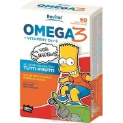 Revital OMEGA 3 + VITAMÍNY D3 + E The Simpsons cps mld 1x60