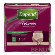 DEPEND SUPER L pre ženy 9ks
