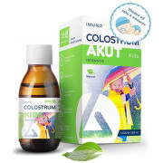 DELTA COLOSTRUM Akut Kids sirup natural 125 ml