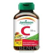 JAMIESON VITAMÍN C 500 mg tropické ovocie tbl 120x500mg
