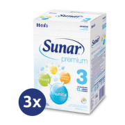 Sunar Premium 3 600g - balení 3 ks