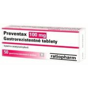 Preventax 100 mg tbl ent 50x100 mg