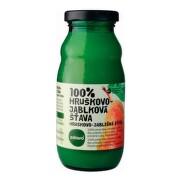 ZDRAVO 100% Hruškovo-jablková šťava 200 ml