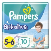 PAMPERS Splash junior 5-6 10 kusov