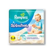 PAMPERS Splash midi 3-4 12 kusov