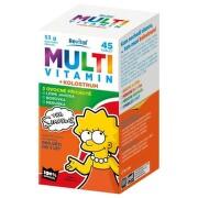 REVITAL Multivitamín + kolostrum The simpsons 45 tabliet