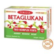 TEREZIA Betaglukan Trio komplex forte 500 mg 30 kapsúl