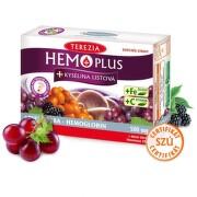 TEREZIA Hemoplus + kyselina listová 50 + 10 kapsúl ZADARMO