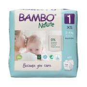 BAMBO 1 detské plienky priedušné 22 kusov