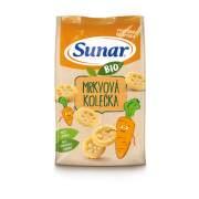 SUNAR BIO Chrumky mrkvové kolieska 45 g