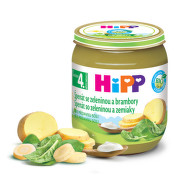 HiPP Príkrm BIO špenát so zeleninou a zemiakmi 125 g