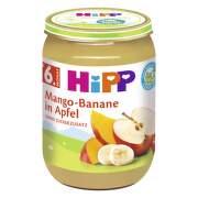 HiPP Príkrm BIO jablká s mangom a banánmi 190 g