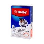 BOLFO obojok pre mačky a malých psov, obvod 38 cm 1ks