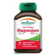 JAMIESON HORČÍK 500 mg S VITAMÍNOM D3 500 IU tbl 60
