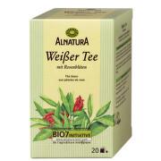 Alnatura Biely čaj s ružou a čajovým kvetom 30x1 g 30g vrecka