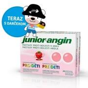 Junior-angin pastilky pre deti 2x24 (48 ks) + darcek