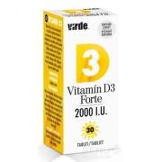 VIRDE Vitamín D3 forte 2000 I.U. 30 tabliet