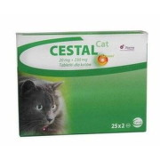 CESTAL CAT flavour 20 mg/230 mg tbl 50