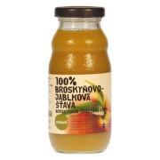ZDRAVO 100% Broskyňovo-jablková šťava 200 ml