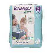 BAMBO 6 Detské plienky priedušné 20 kusov