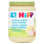 HiPP Príkrm zemiaky s králičím mäsom a feniklom 190 g