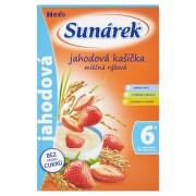SUNÁREK Mliečna ryžová kašička jahodová 225 g