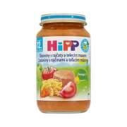 HiPP Príkrm BIO cestoviny s rajčinami a telacím mäsom 220 g