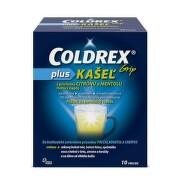 COLDREX Grip plus kašeľ príchuť citrón a mentol 10 vrecúšok