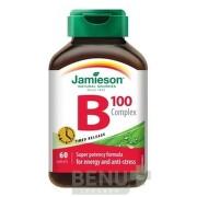 JAMIESON B-KOMPLEX 100 mg S POSTUPNÝM UVOĽŇOVANÍM tbl 60