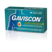 GAVISCON žuvacie tablety tbl mnd 1x48ks
