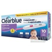 Ovulačný test Clearblue digitálny 1set (1 drziak+10ks test.)