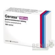 GERASA 100 mg 100 gastrorezistentných tabliet