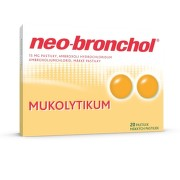 Neo-bronchol 15 mg mäkké pastilky pas por 20x15mg