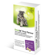 Drontal Dog Flavour 150/144/50 mg tablety tbl 24