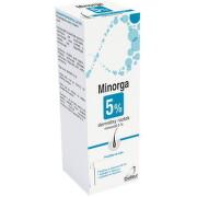 Minorga 5 % dermálny roztok 1x60 ml 60ml