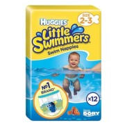 HUGGIES Little swimmers 2-3 12 kusov
