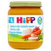 HiPP Príkrm zeleninová omáčka s ryžou a kuracím mäsom 125 g