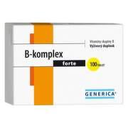GENERICA B-komplex forte 100 tabliet