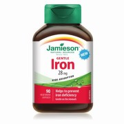 JAMIESON Gentle iron komplex 90 kapsúl