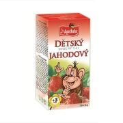 APOTHEKE Detský ovocný čaj jahoda 20 x 2 g