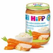 HiPP Príkrm ryža s karotkou a morčacím mäsom 220 g